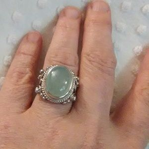 Jewelry - Artisan crafted aquamarine ring